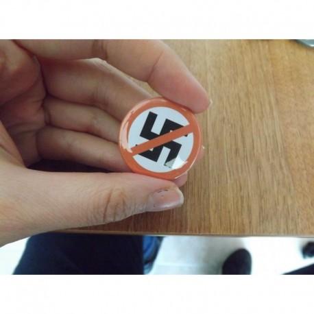 Anti n*zism chapa pin badge button antifascist antifa