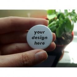 Custom badge pin button chapa personalizada 32 mm