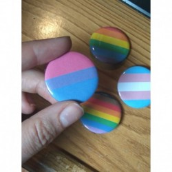 LGBT Pride buttons