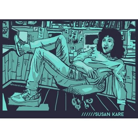 Susan Kare Illustration Print