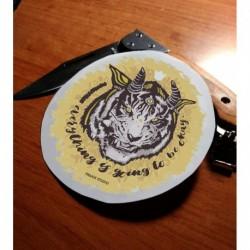 Dragon tiger sticker