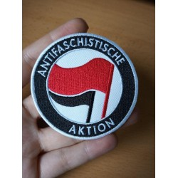 Antifaschistische Aktion patch antifa