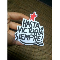 Hasta la victoria siempre sticker che guevara pegatina