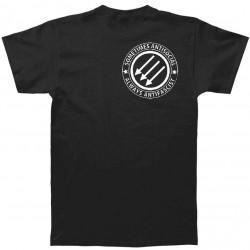 Sometimes antisocial, always antifascist t shirt camiseta