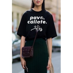 Pavo cállate camiseta t shirt feminist feminista