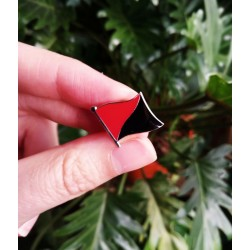 Anarcho communist flag pin hard enamel