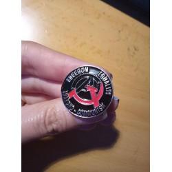 Anarcho-communism enamel pin
