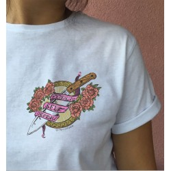 Feminist self defense shirt