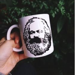 Marx portrait taza bowl cup ceramics