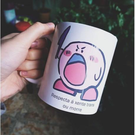 Respecta á xente trans ou morre Kirby taza