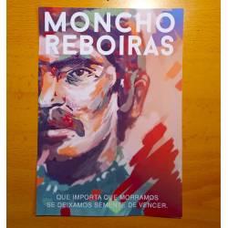 Moncho Reboiras, semente de vencer Print postal