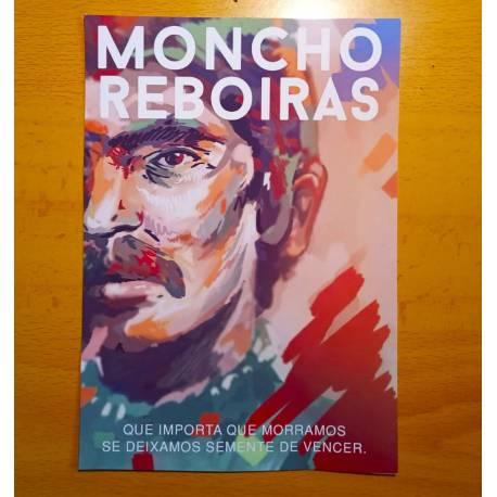 Moncho Reboiras, semente de vencer Print postcard
