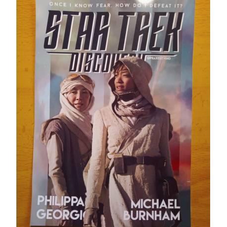 Star Trek Discovery fanart print postcard