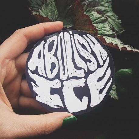 Abolish ICE sticker
