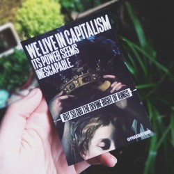 We live in capitalism, its power seems inescapable, so did the divine right of kings sticker ursula k le guin leftist