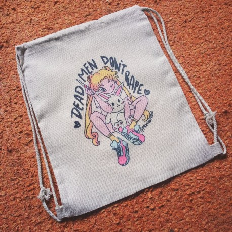 De*d men don't r*pe sailor moon lino-like bag